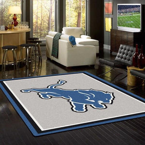 Detroit Lions Rug Team Spirit