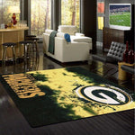 Green Bay Packers Faded Area Rug