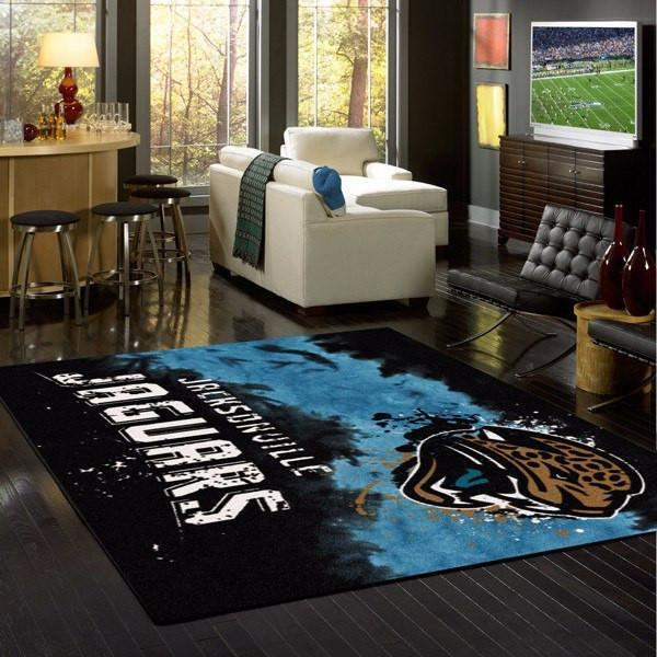Jacksonville Jaguars Faded Area Rug