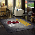 Kansas City Chiefs Distressed Area Rug