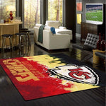 Kansas City Chiefs Faded Area Rug