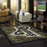Los Angeles Rams Camouflage Rug