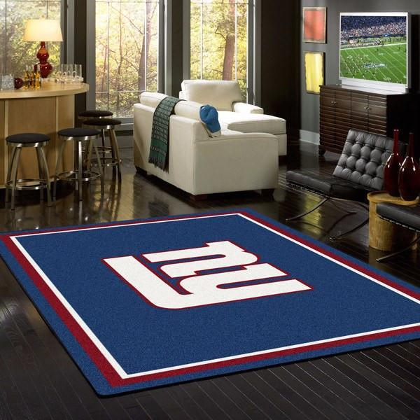New York Giants Rug Team Spirit