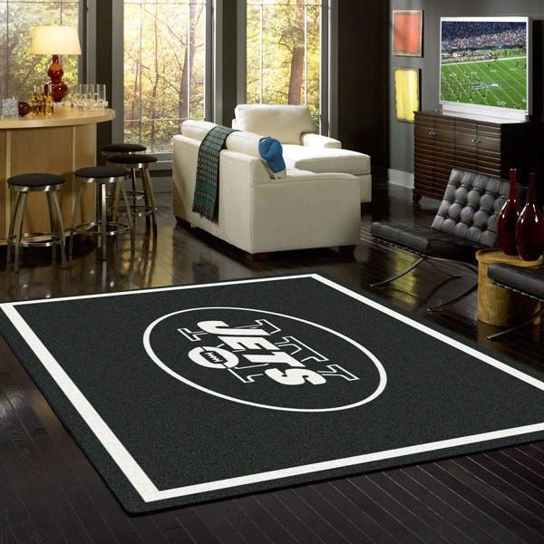 New York Jets Rug Team Spirit