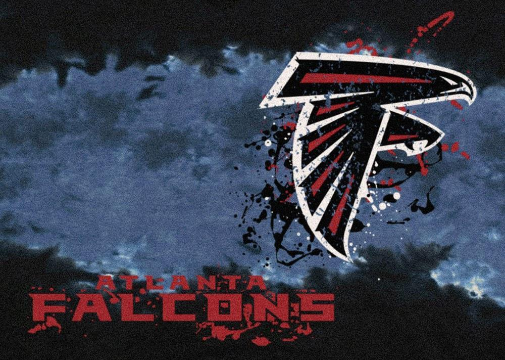 Atlanta Falcons Area Rug NFL Team Fade