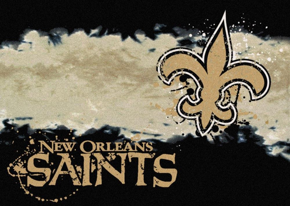 New Orleans Saints Rug Team Fade