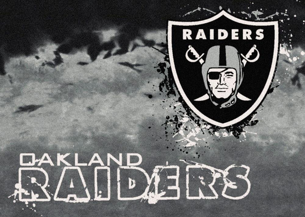 Oakland Raiders Area Rug NFL Team Fade