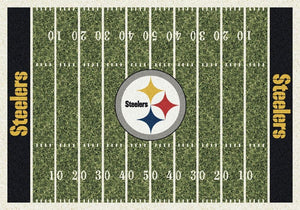 Pittsburgh Steelers Football Field Rug