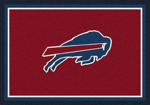 Buffalo Bills Rug Team Spirit