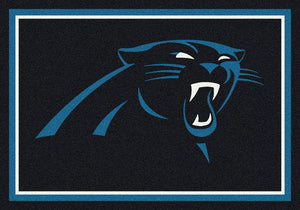 Carolina Panthers Rug Team Spirit