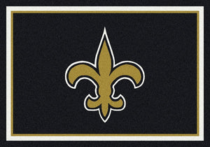New Orleans Saints Rug Team Spirit