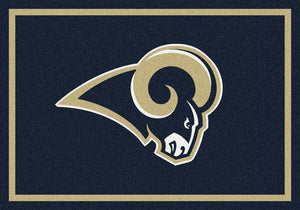 Los Angeles Rams Rug Team Spirit