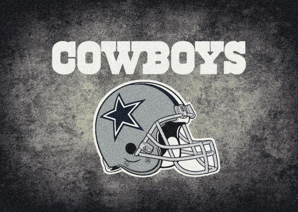 Dallas Cowboys Distressed Area Rug