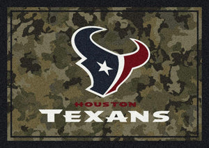 Houston Texans Camouflage Rug
