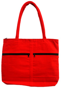 Guadalupe Virgin Embroidered Red Bag