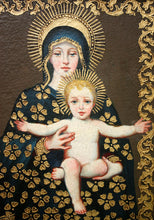 Load image into Gallery viewer, Virgin of the Throne, Mary and Jesus
