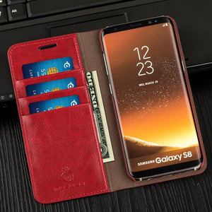 Luxury Wallet Leather Case