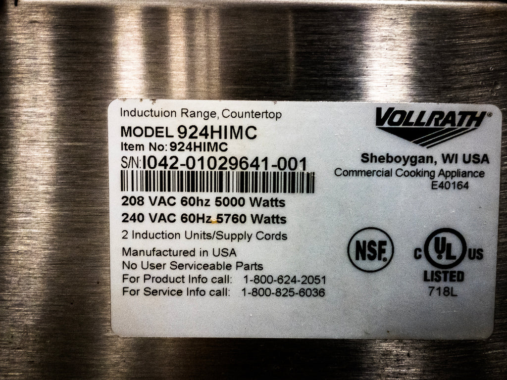 Vollrath 924HIMC Induction Hot Plate (6)
