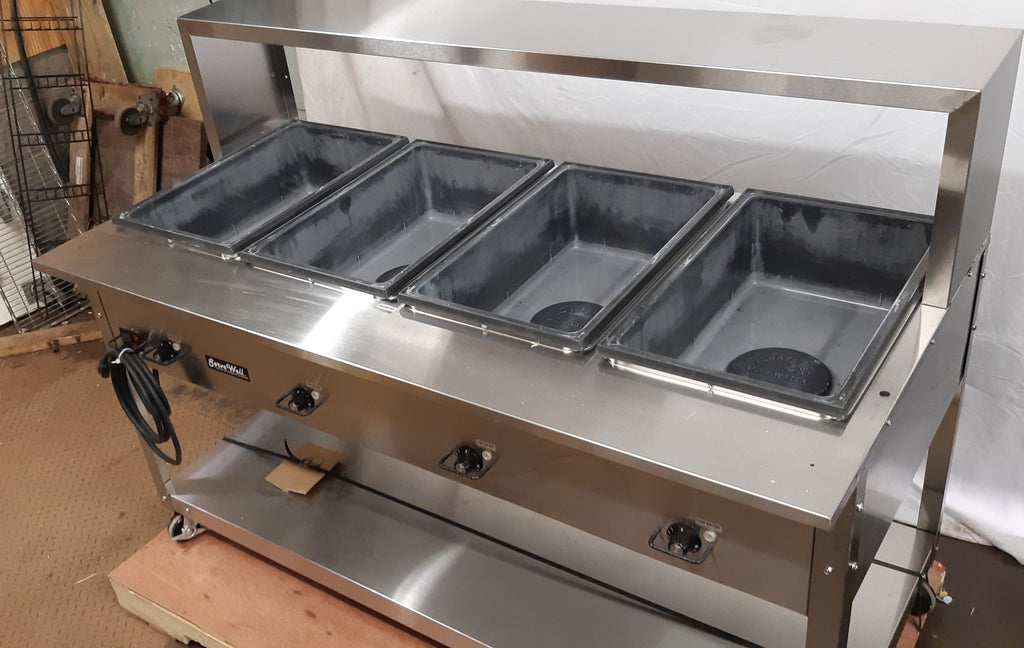 Vollrath 38218 4 Well Hot Food Table (4)