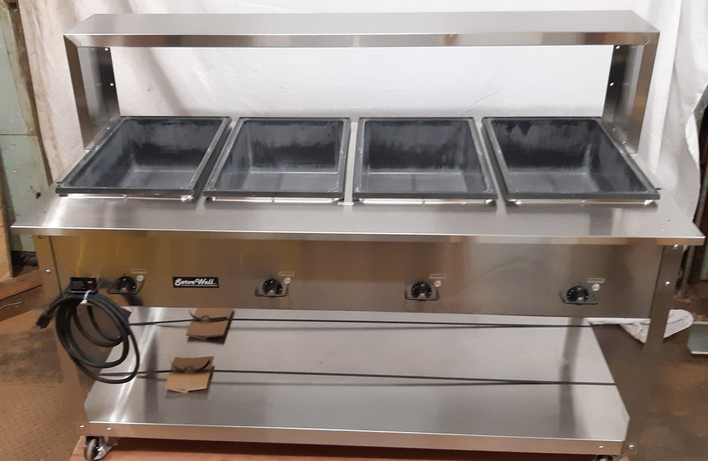 Vollrath 38218 4 Well Hot Food Table (5)