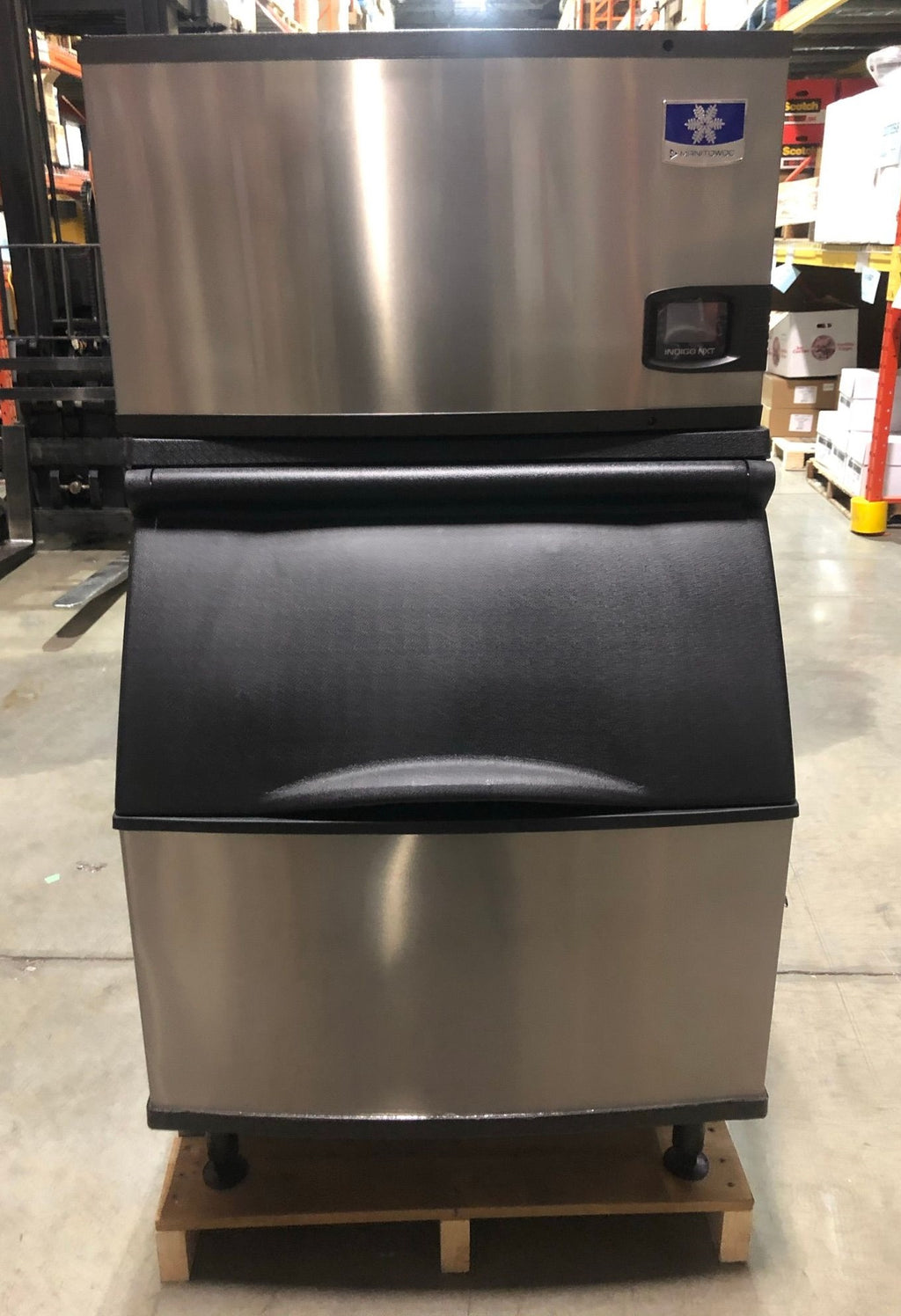 Manitowoc ID0302A Ice Maker with B400Bin (2)