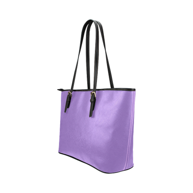 Purple logo leather Tote Bag for  at ARMY PINK
