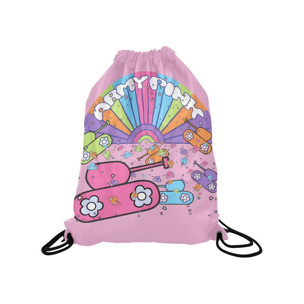 Pink sunshine Drawstring Bag for  at ARMY PINK