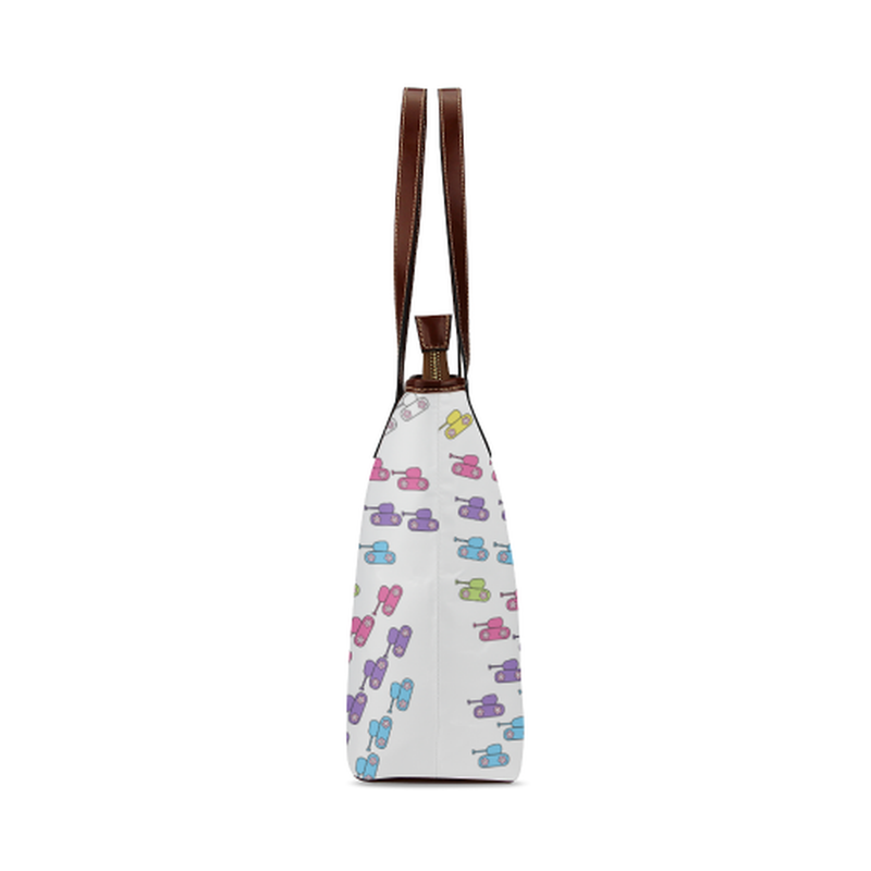 Bright tank rainbow Tote Bag for  at ARMY PINK