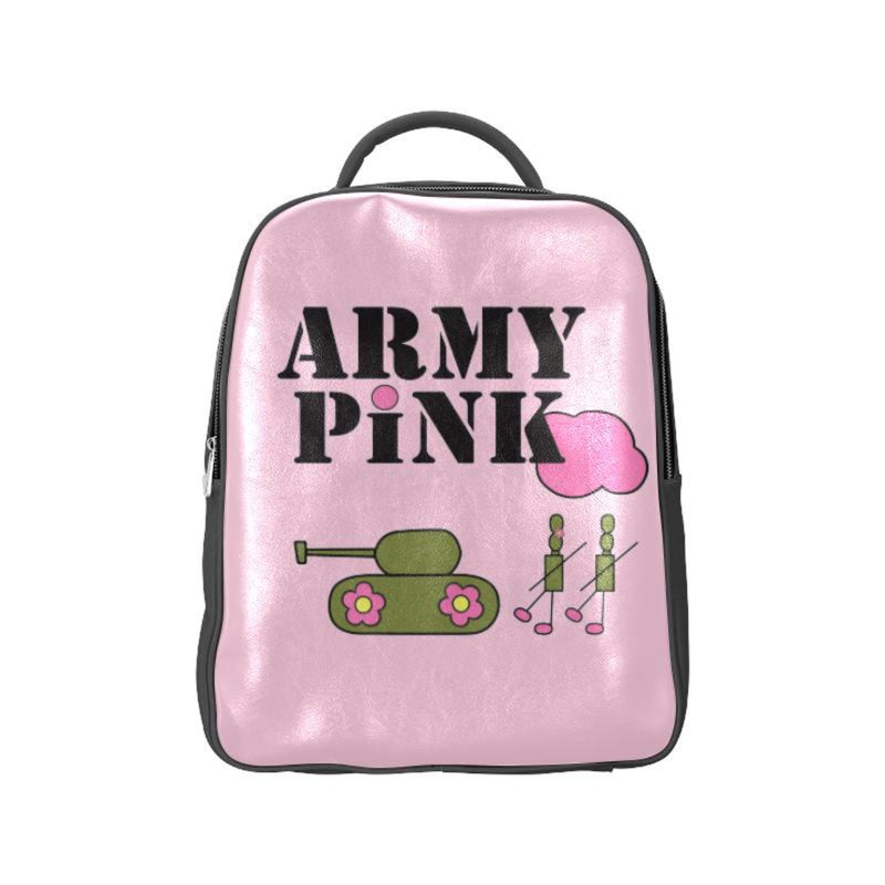 Pink logo Backpack ${product-type) ${shop-name)