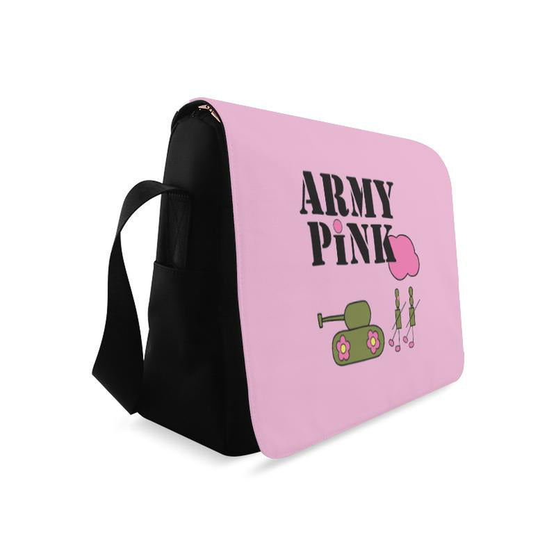 Logo on pink for  at ARMY PINK