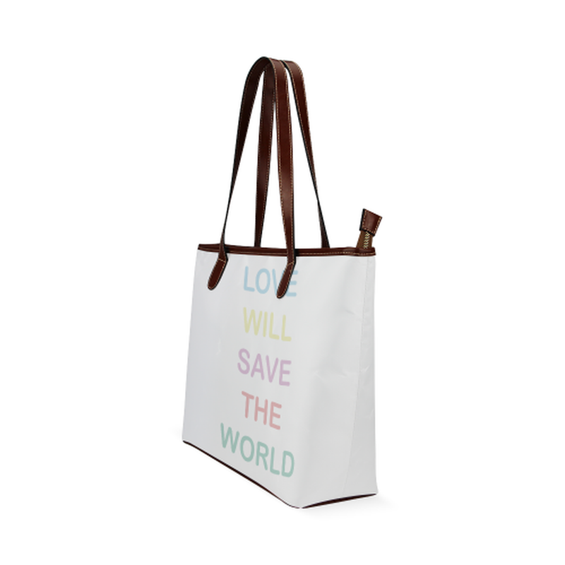 White love saves Tote Bag for  at ARMY PINK