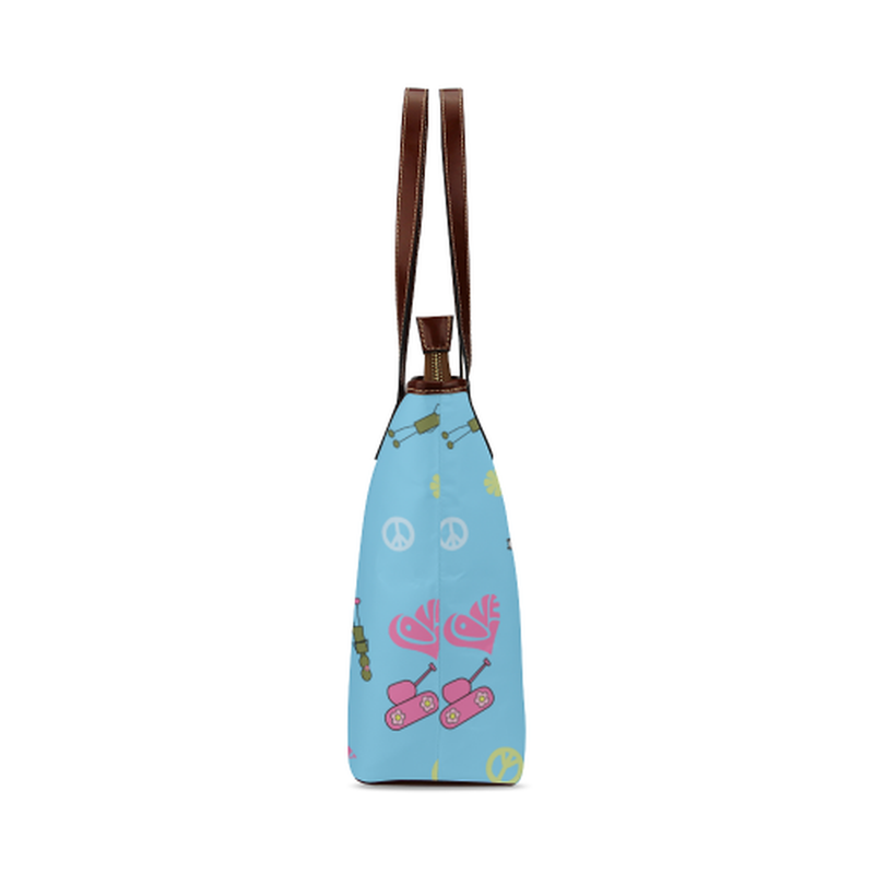 Blue logo Tote Bag for  at ARMY PINK