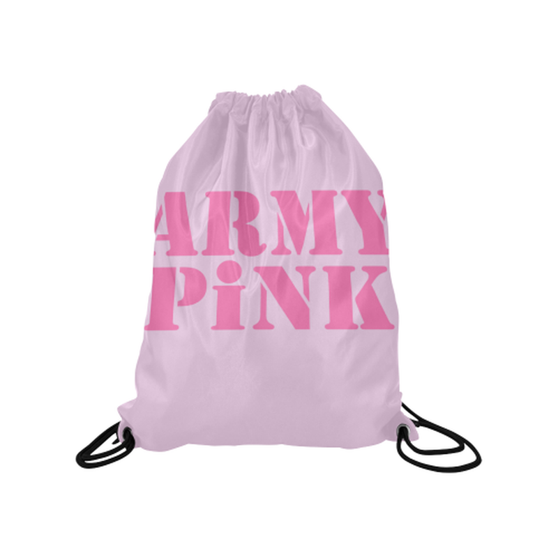 Pink Army Pink Drawstring Bag for  at ARMY PINK