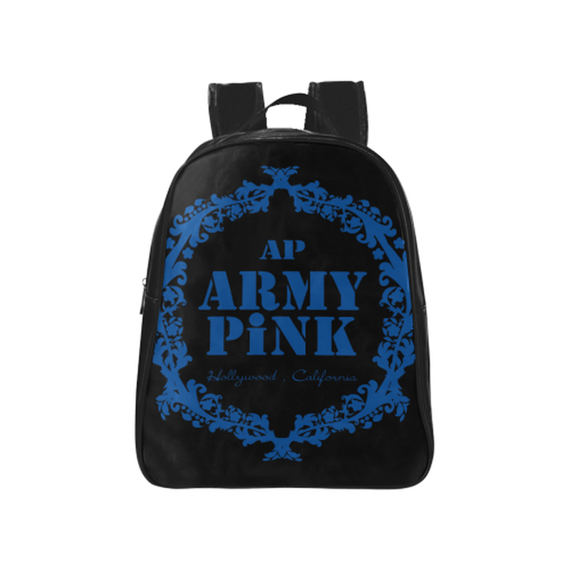 Royal wreath School Backpack (Model 1601)(Medium) for  at ARMY PINK