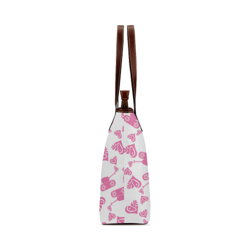 Pink love tank Tote Bag for  at ARMY PINK