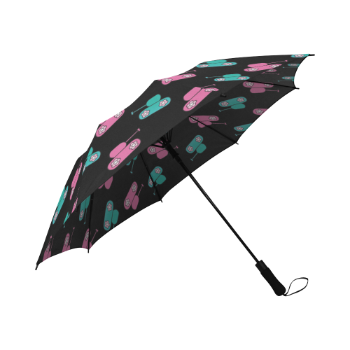 Semi-Automatic Foldable Umbrella for  at ARMY PINK