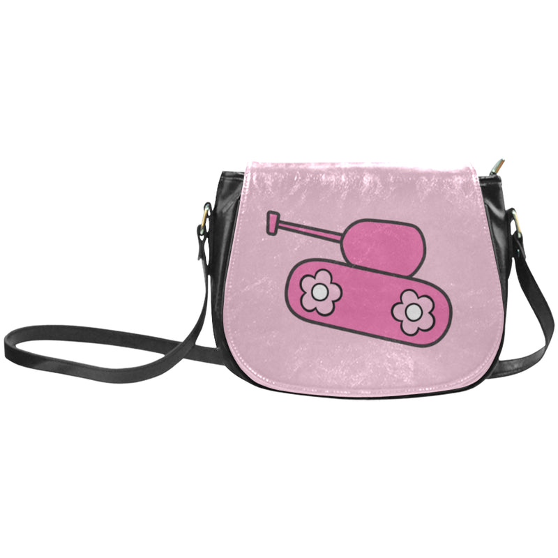 Pink Tank Saddle Bag for  at ARMY PINK