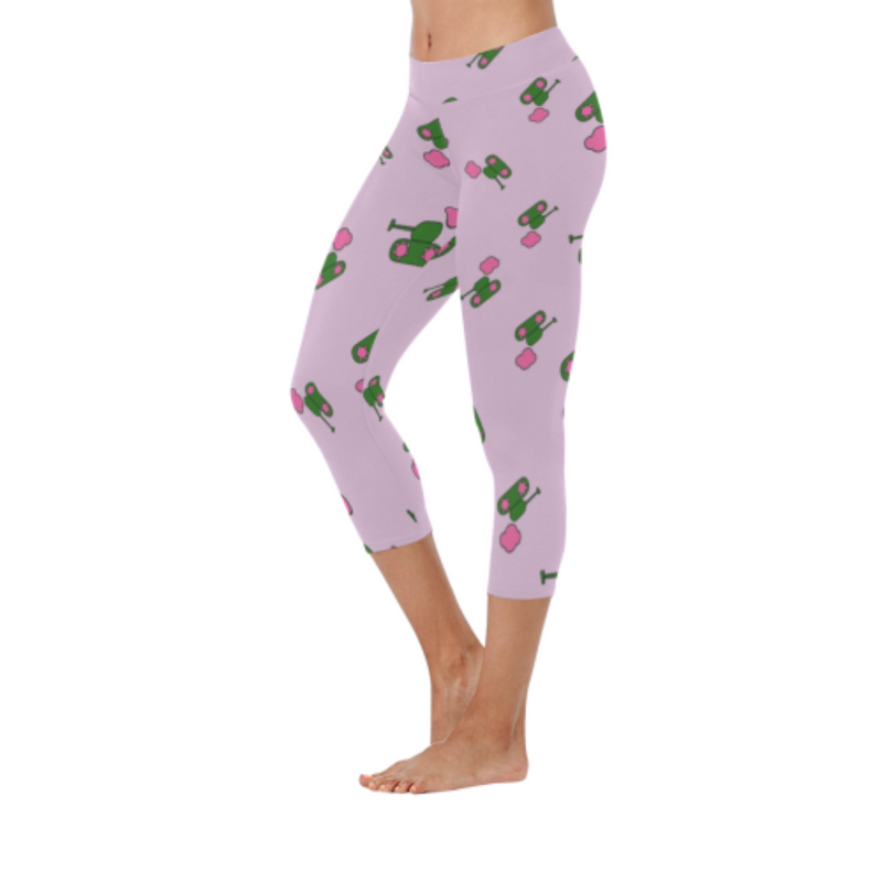 Army Pink Low Rise Capri Leggings for 34.00 at ARMY PINK
