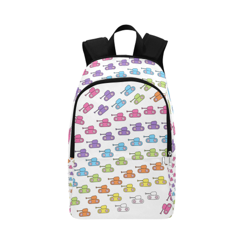 Bright tanks Fabric Backpack ${product-type) ${shop-name)