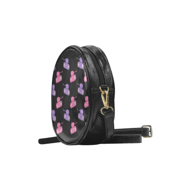 round sling pink purple Round Sling Bag for  at ARMY PINK