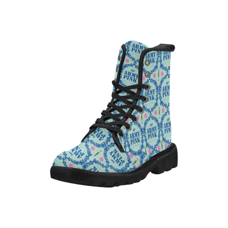 Blue wreath blue Boots for 60.00 at ARMY PINK