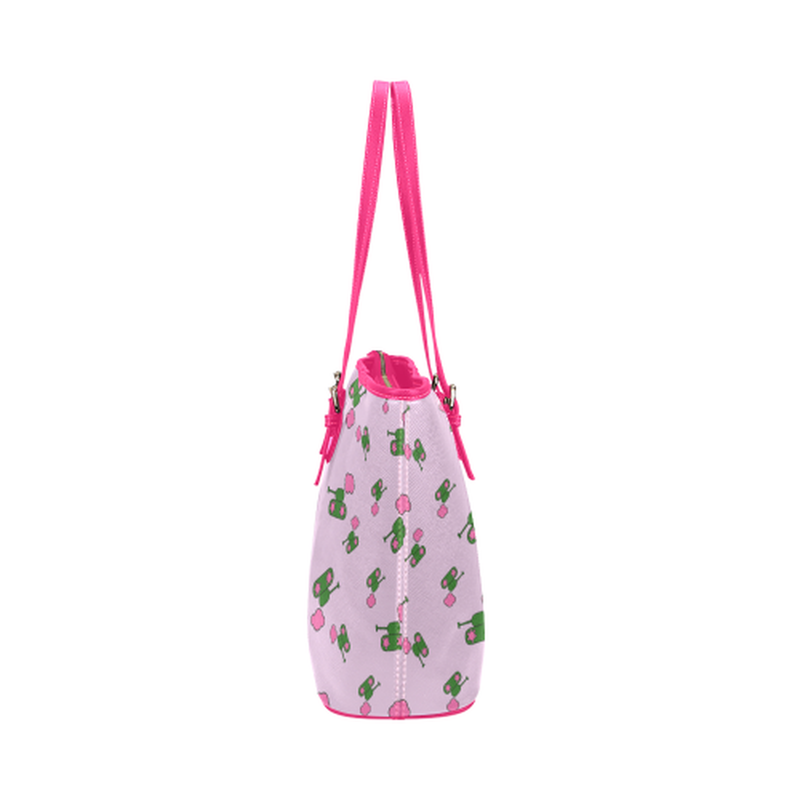 Pink tank cloud leather Tote Bag for  at ARMY PINK
