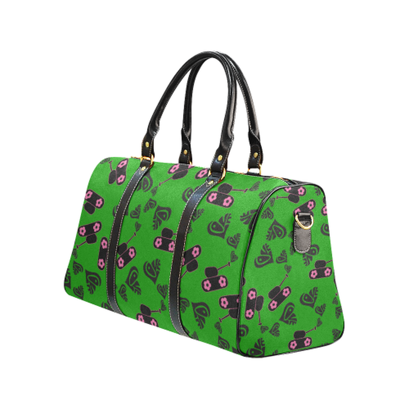 Small green love tank Travel Bag for  at ARMY PINK