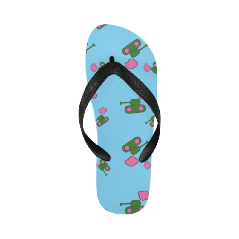 Tank cloud blue Flip Flops for 16.00 at ARMY PINK