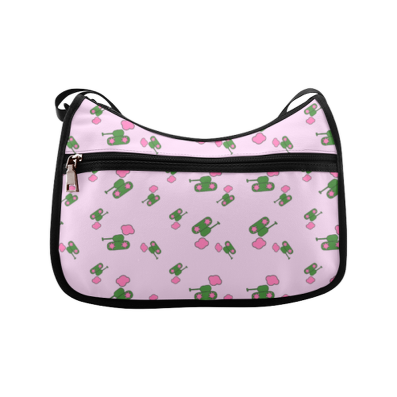 Pink tank cloud Crossbody Bag for  at ARMY PINK