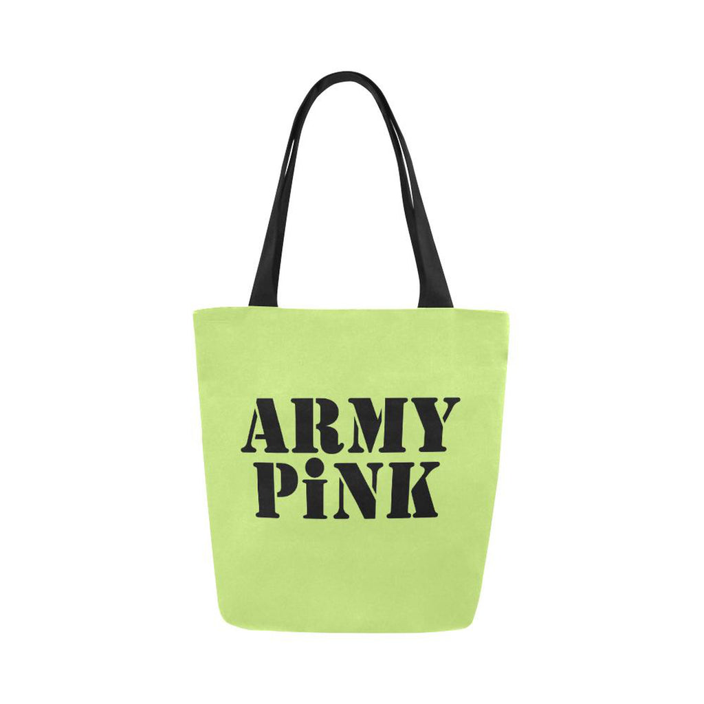 Army Pink on Green Handbag for  at ARMY PINK