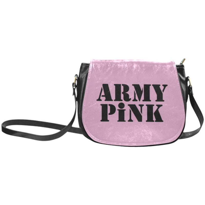 Army Pink on Pink Saddle Bag ${product-type) ${shop-name)
