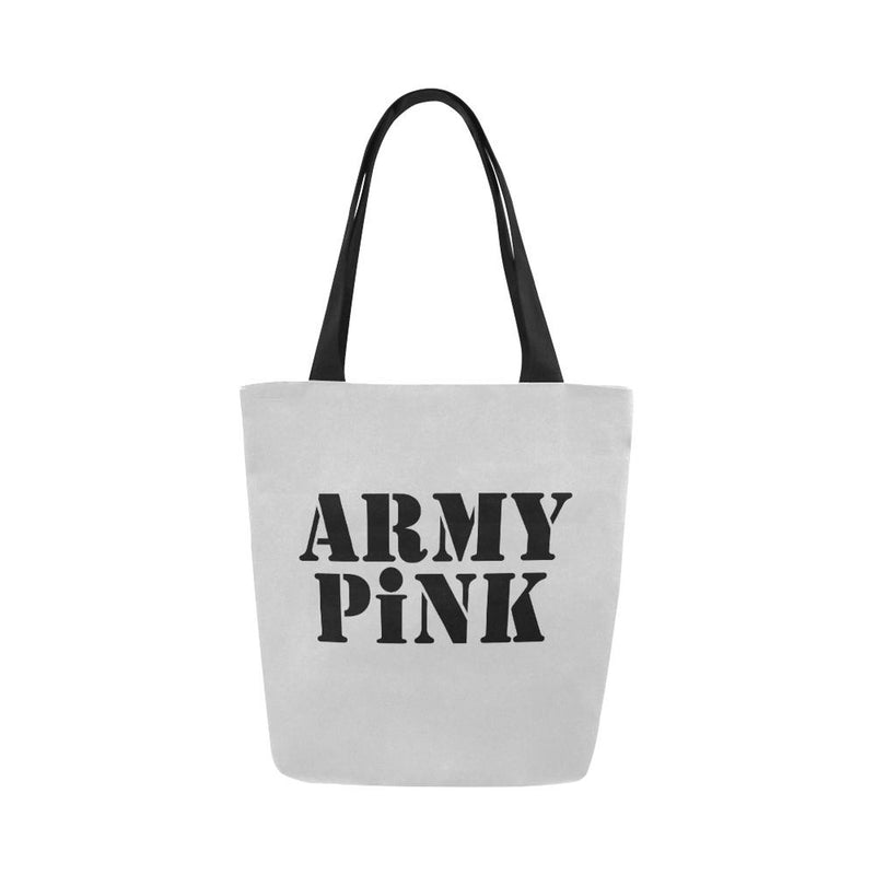 Army Pink on Gray Handbag for  at ARMY PINK