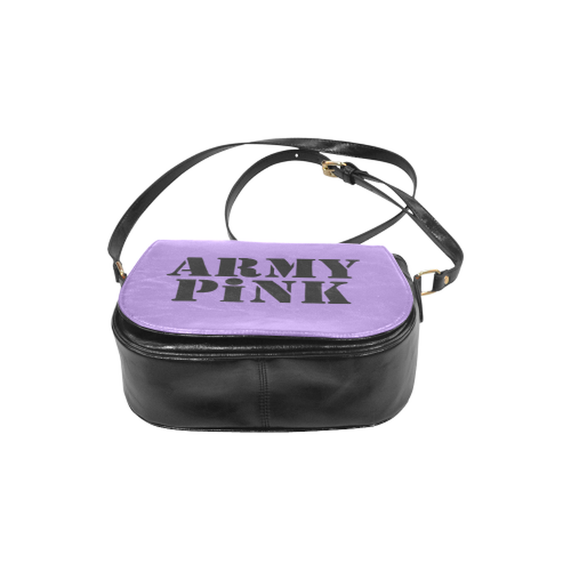 Army Pink on Purple Classic Saddle Bag for  at ARMY PINK