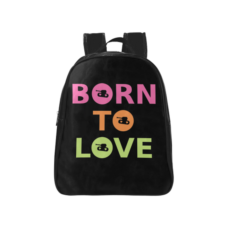 Bright born to love Backpack for  at ARMY PINK